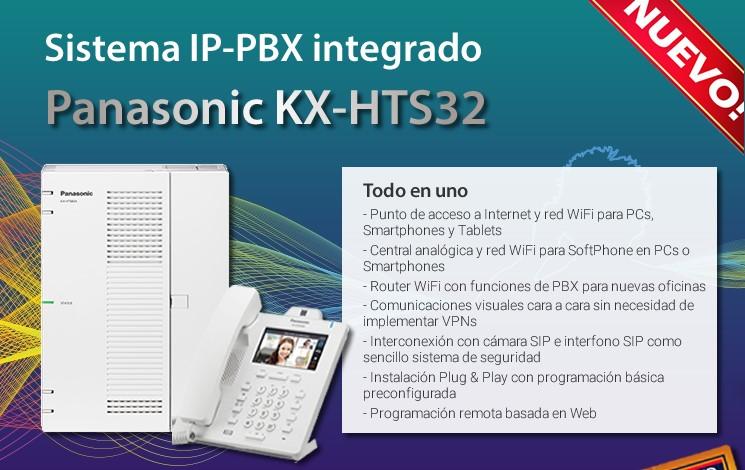 Nueva centralita KX-HTS32